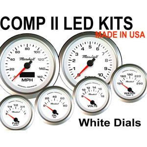 COMP II LED White