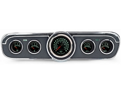 1965 GT Mustang Comp II 60's Muscle Car 5-Gauge Instrument Set