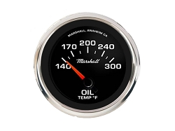 Comp II LED, Black Sport Dial, Oil Temperature