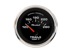Comp II LED, 60s Muscle Car Dial, Transmission Temperature