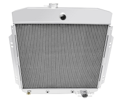 57-60 F100 3 Row Core Aluminum Radiator for SBF 289, I-6 and More (SBC)
