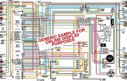 1964 Ford Mustang Color Wiring Diagram