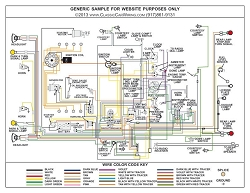 1958 1959 1960 Ford F Series Truck Wiring Diagram