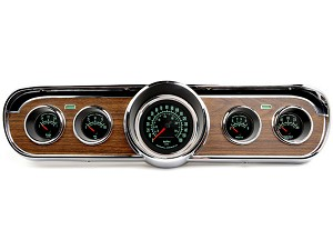 1966 Mustang Deluxe Comp II 60's Muscle Car 5-Gauge Instrument Set