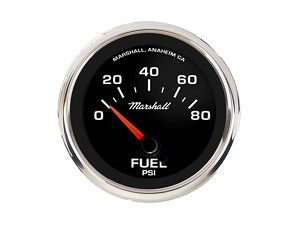 Comp II LED, Black Sport Dial, Fuel Pressure