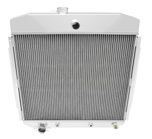 57-60 F100 3 Row Core Direct Replacement Aluminum Radiator